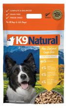 Load image into Gallery viewer, K9 Natural Freeze Dried Chicken Feast 1.8kg