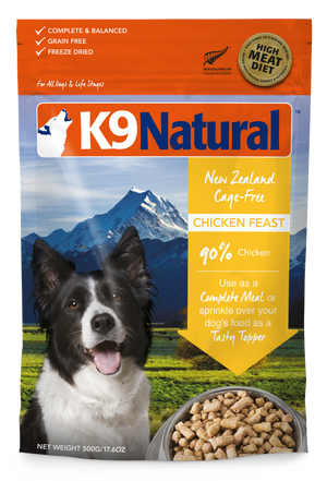 K9 Natural Freeze Dried Chicken Feast 500g