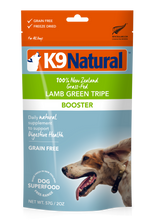 Load image into Gallery viewer, K9 Natural Freeze Dried Lamb Green Tripe 57g