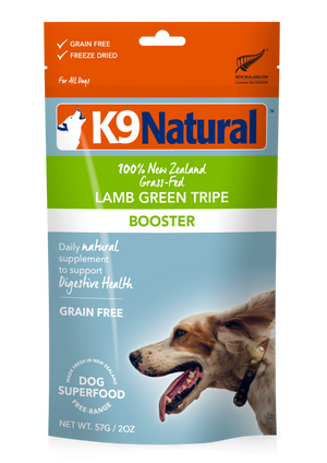 K9 Natural Freeze Dried Lamb Green Tripe 57g
