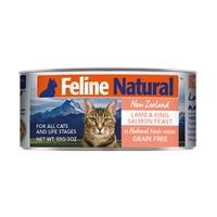 Feline Natural Canned Food - Lamb & Salmon 85g / 170g