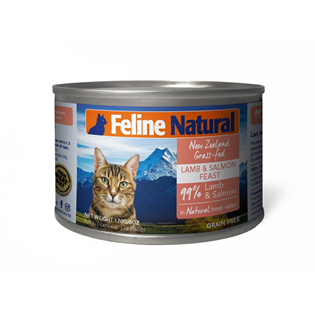 Feline Natural Canned Food - Lamb & Salmon 170g