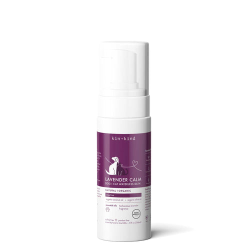 Kin+Kind Lavender Calm Waterless Shampoo for Dogs