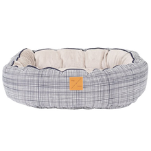 Load image into Gallery viewer, Mog & Bone Reversible Bed - Navy Linen
