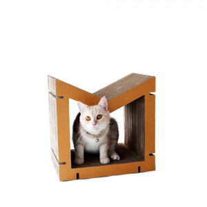 KAFBO Home M Scratcher in Brown