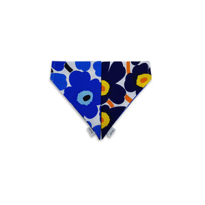 6FIVE Reversible Blue Bandana in Marimekko Fabric