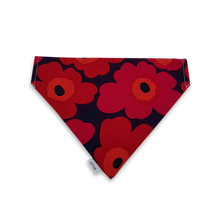 Load image into Gallery viewer, 6FIVE Reversible Red Bandana in Marimekko Fabric