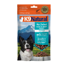 Load image into Gallery viewer, K9 Natural Freeze Dried Beef & Hoki Feast Topper 100g