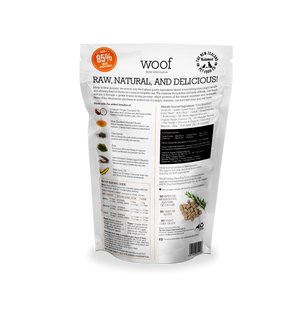 WOOF Freeze Dried Wild Brushtail 1.2kg