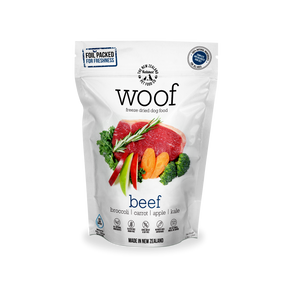 WOOF Freeze Dried Beef 1.2kg