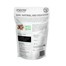 Load image into Gallery viewer, MEOW Freeze Dried Wild Goat Treats 50g