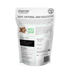 MEOW Freeze Dried Wild Goat Treats 50g