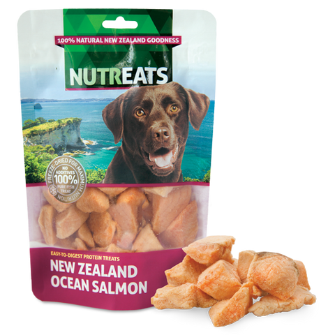 Nutreats Freeze Dried Ocean Salmon Treats for Dogs