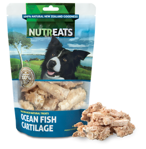 Nutreats Freeze Dried Ocean Fish Cartilage Treats for Dogs