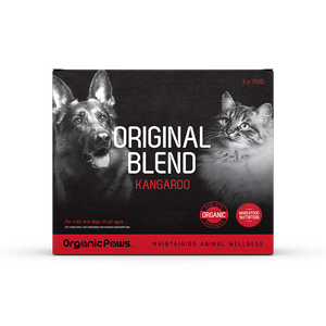 Organic Paws Frozen Raw Original Blend - Kangaroo