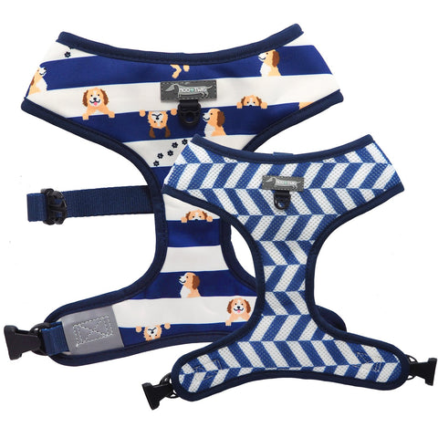 Moo + Twig Reversible Harness - Peek A Doo