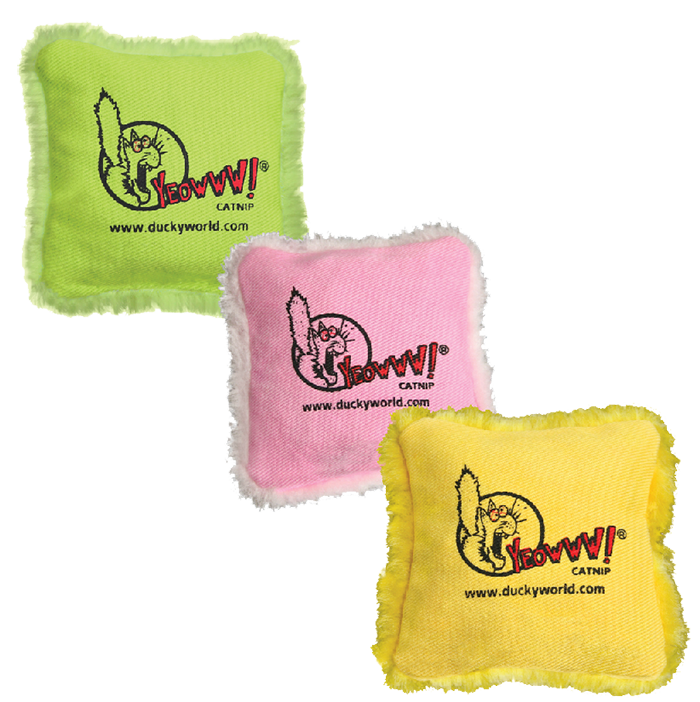 Yeowww! Pillows Catnip Toy