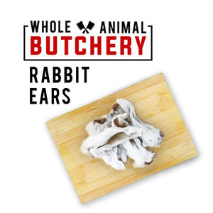 Whole Animal Butchery Frozen Rabbit Ears