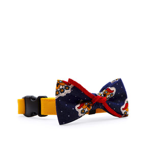 Bowtix Dog Collar with Bowtie - Rodeo Motifs