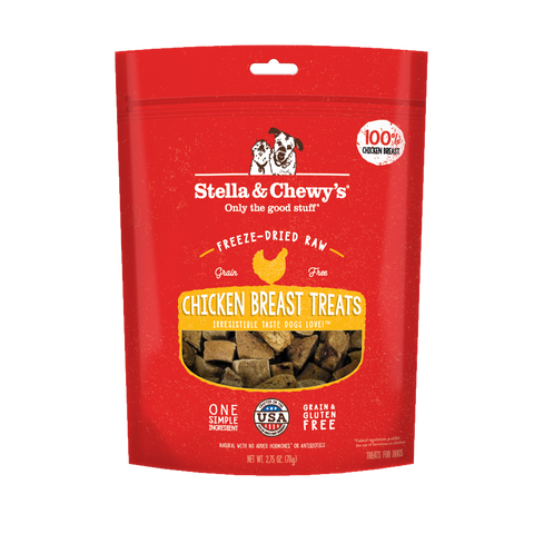 Stella & Chewy's Freeze Dried Chicken Breast Treats 85g