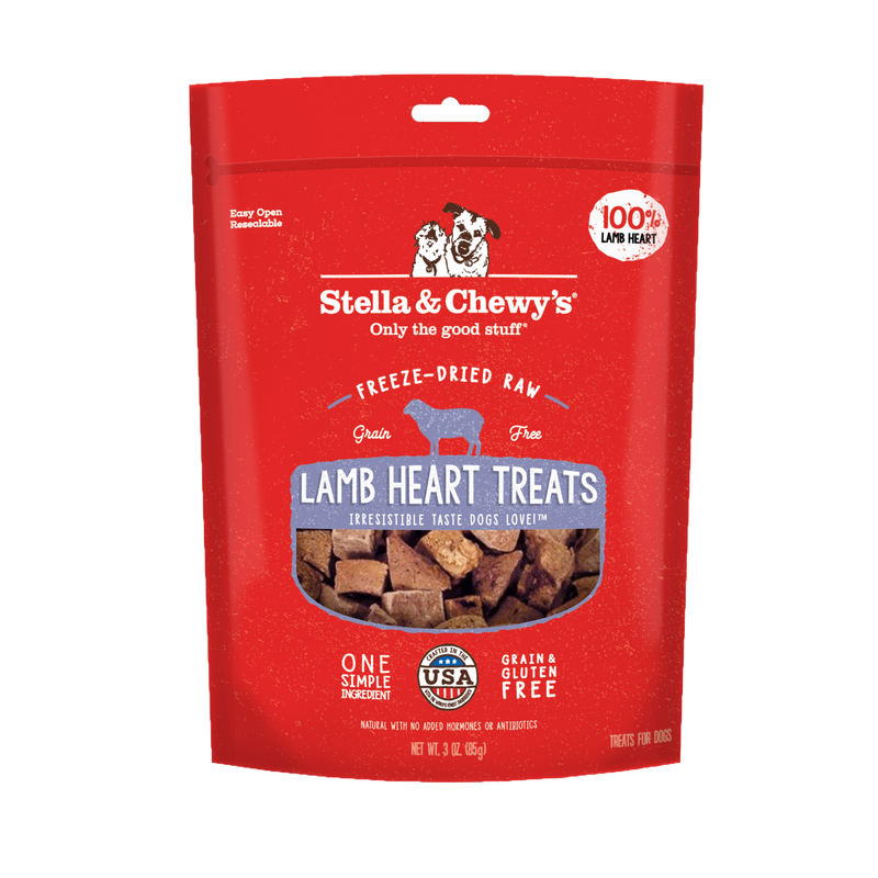 Stella & Chewy's Freeze Dried Lamb Heart Treats 85g