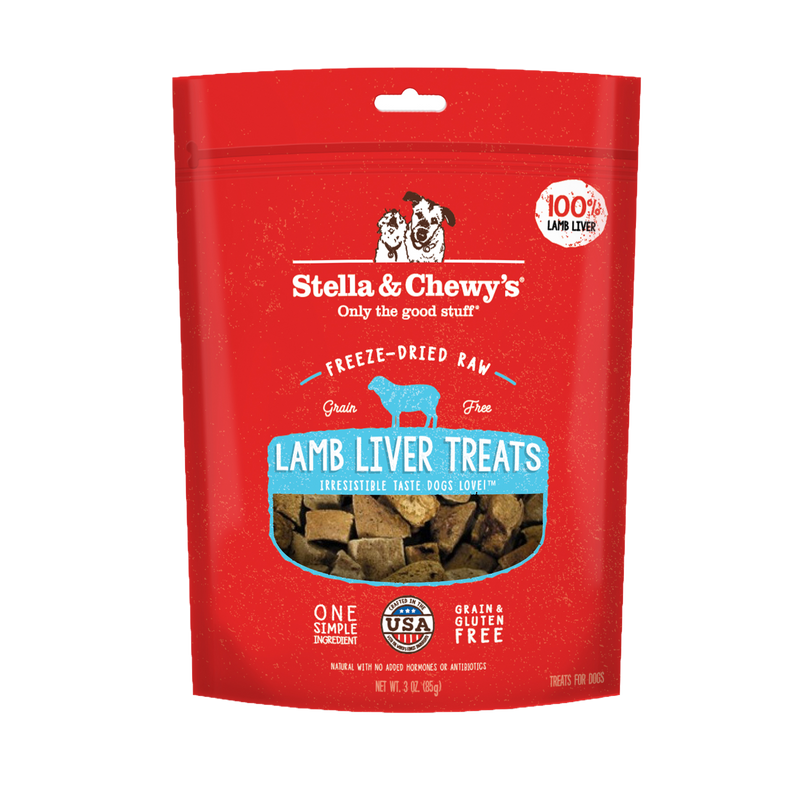 Stella & Chewy's Freeze Dried Lamb Liver Treats 85g
