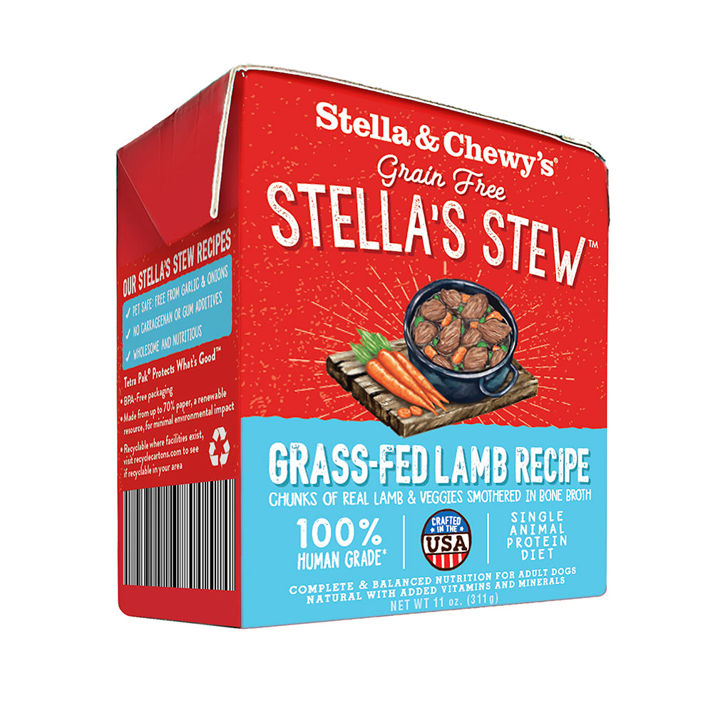 Stella & Chewy's Grass-fed Lamb Stew for Dogs