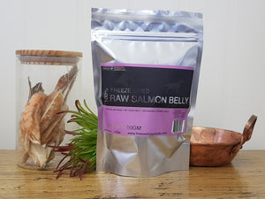 Freeze Dry Australia Salmon Bellies