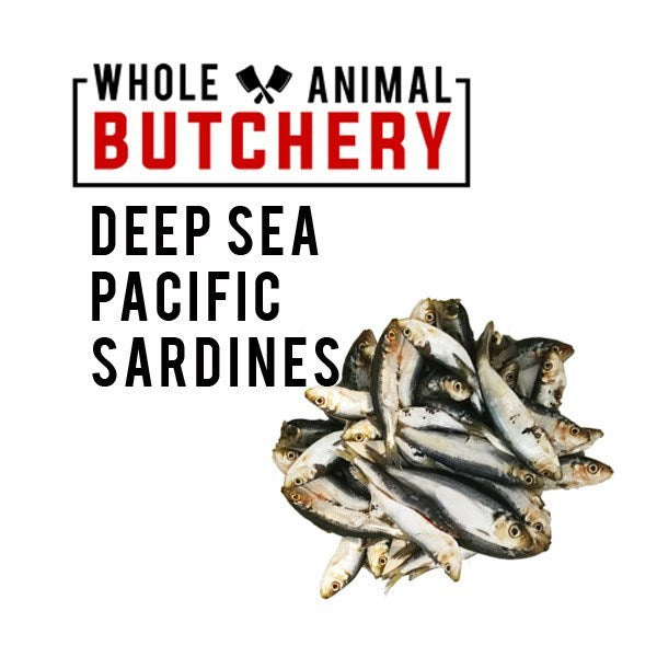 Whole Animal Butchery Frozen Sardines