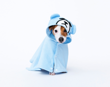 Load image into Gallery viewer, Cote a Cote Krunk Bathrobe in Blue