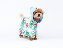 Load image into Gallery viewer, Cote a Cote Krunk Bathrobe in Hawaiian Print