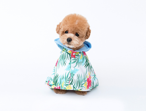 Cote a Cote Krunk Bathrobe in Hawaiian Print