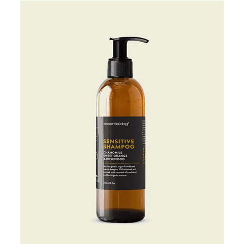 Essential Dog Sensitive Shampoo: Chamomile, Sweet Orange & Rosewood