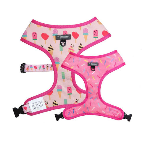 Moo + Twig Reversible Harness - Sweet Treat