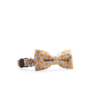 Bowtix Petite Dog Collar with Bowtie - Sweet Magnolia