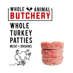 Whole Animal Butchery Frozen Turkey Patties