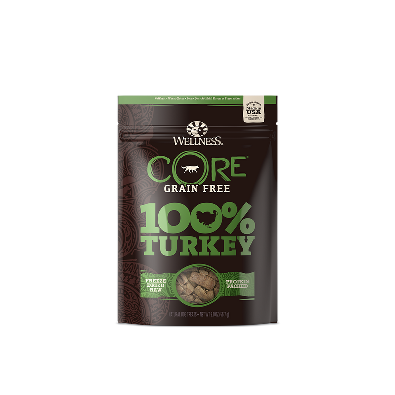 Wellness Core Freeze Dried Turkey Treats 2oz