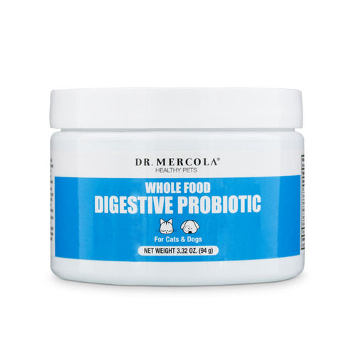 Dr Mercola Whole Food Digestive Probiotics for Cats & Dogs