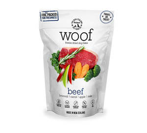 WOOF Freeze Dried Beef Treats 50g