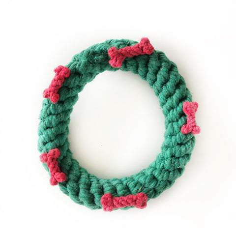Christmas Wreath Rope Toy