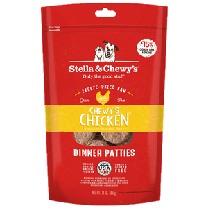 Stella & Chewy's Freeze Dried Chewy's Chicken Dinner Patties for Dogs 14oz