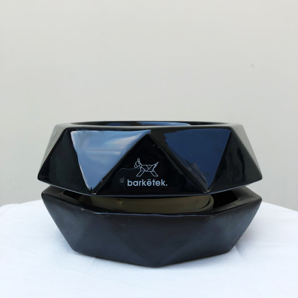 Barkëtek Anti-Ant Geowl Bowl in Black