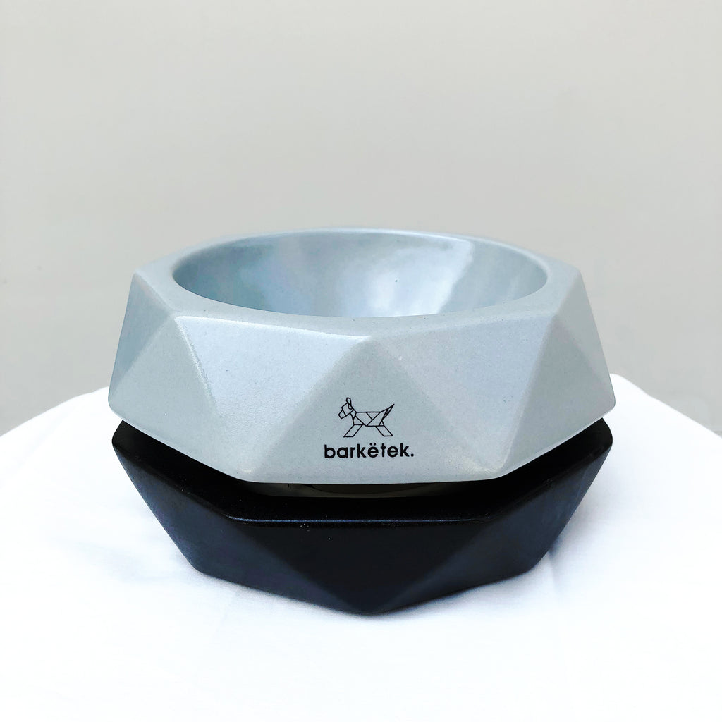 Barkëtek Anti-Ant Geowl Bowl in Grey