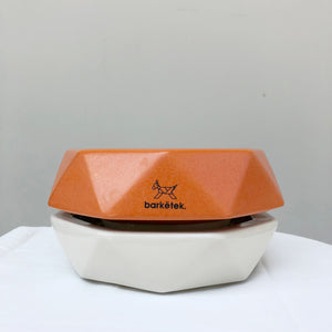 Barkëtek Anti-Ant Geowl Bowl in Orange