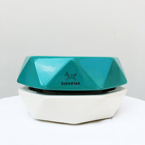 Barkëtek Anti-Ant Geowl Bowl in Turquoise