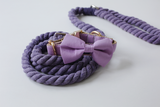 Pampurred Pets Lilac Collar with Bow