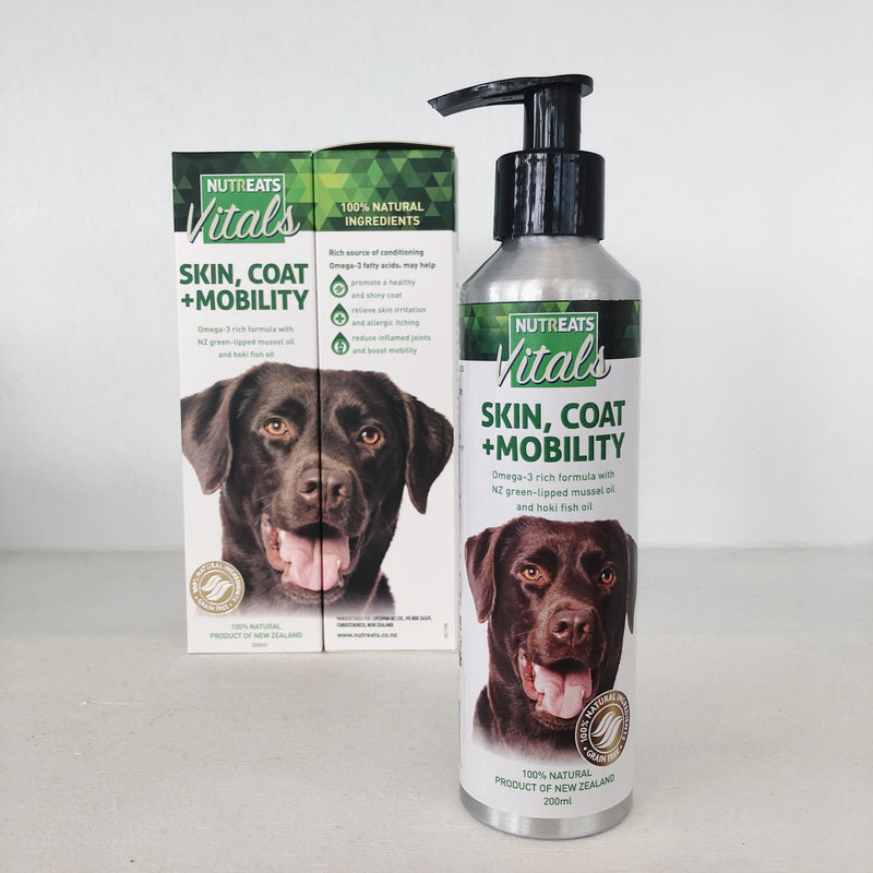 Nutreats Skin Coat & Mobility Oil for Dogs