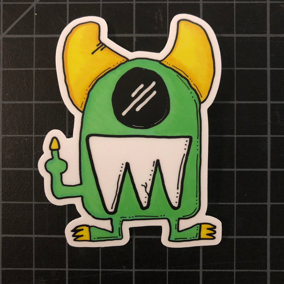 Chunz Die-Cut Sticker