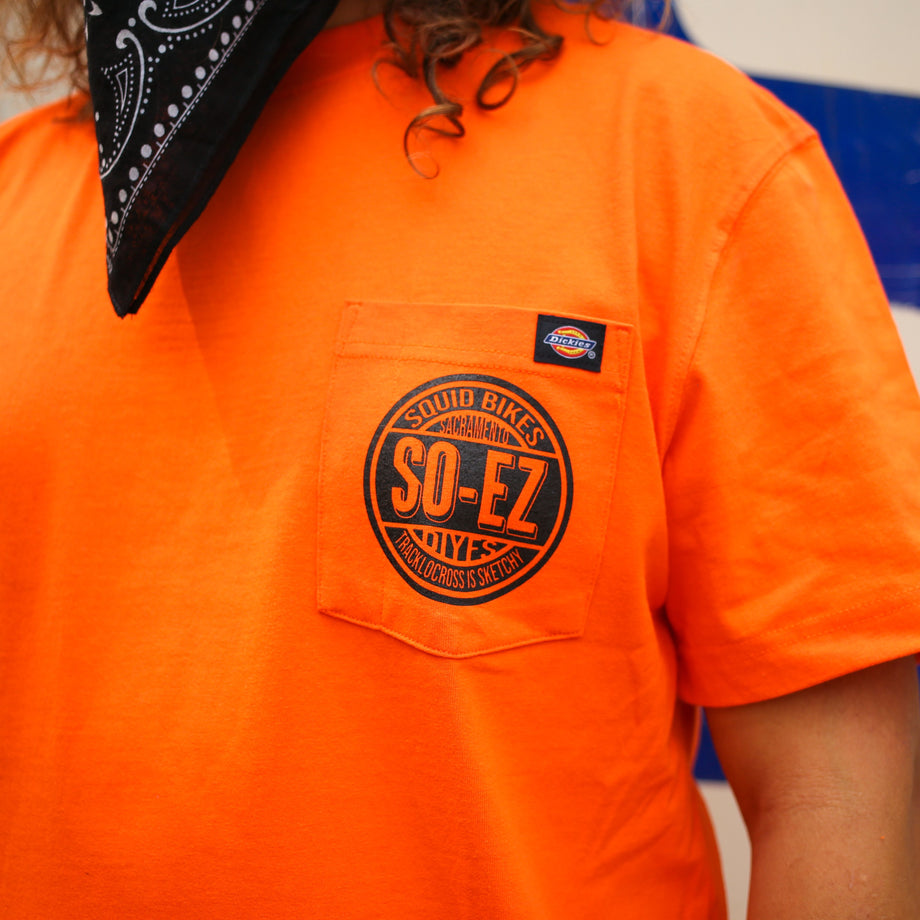 SO-EZ Circle Logo T-Shirt - Orange