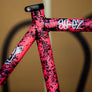 SO-EZ Pink / Black Marble - size 54